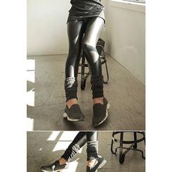REDOPIN - Wet-Look Leggings