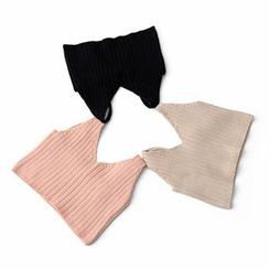 Ainvyi - V-Neck Rib-Knit Camisole Top