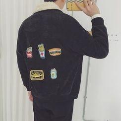 子俊 - 貼布繡厚夾克