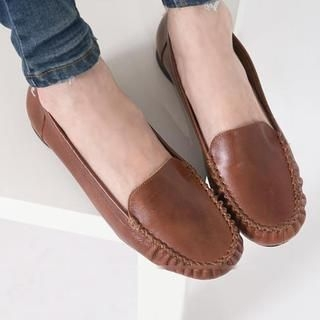 FM Shoes - Genuine Leather Flats