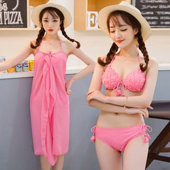 Sweet Splash - Set: Frilled Bikini + Cover