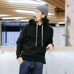 YIDESIMPLE - Drawstring Hooded Pullover