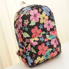 MooMoo Bags - Patterned Canvas Backpack