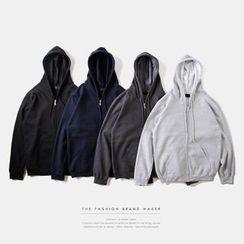 Newin - Plain Zip Hoodie