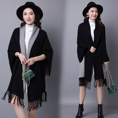 Sugar Town - Two Tone Poncho