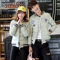 Azure - Couple Matching Padded Jacket