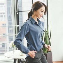 ode' - Pocket-Detail Shirt