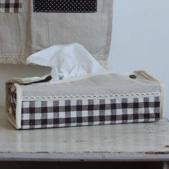 Goodwood - Linen Cotton Tissue Box Cover