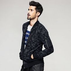 Quincy King - Patterned Zip Jacket