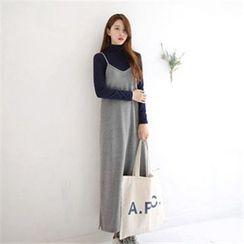 11.STREET - Plain Strappy Dress