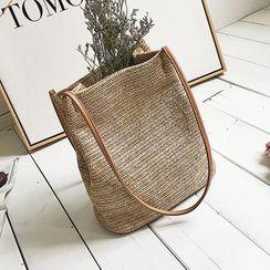Nautilus Bags - Straw Shoulder Bag