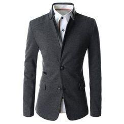 TheLees - Mandarin-Collar Jacket