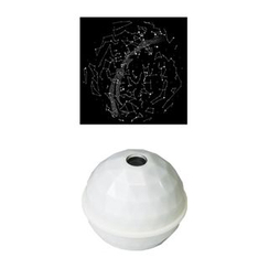 DREAMS - Projector Dome Star Map (White / North)