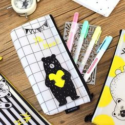 Homey House - Bear Print Pencil Case