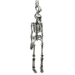 Andante - Skeleton Pendant Necklace