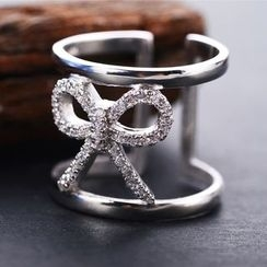 Zundiao - Sterling Silver Ribbon Ring
