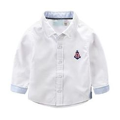 Kido - Kids Embroidered Anchor Shirt