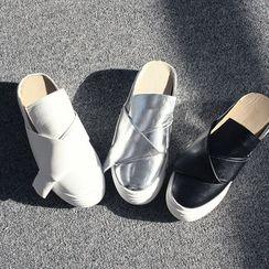 DANI LOVE - Platform Slip-Ons