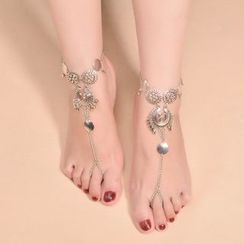 Chidori - Ring-Toe Coin Anklet