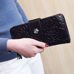 Rosanna Bags - Flower Embossed Long Wallet