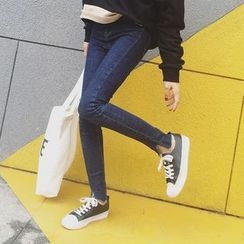 EKOOL - Slim-Fit Washed Jeans