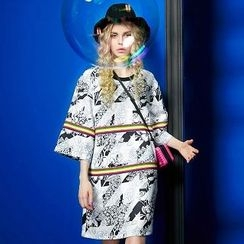 ELF SACK - Printed Shift Dress