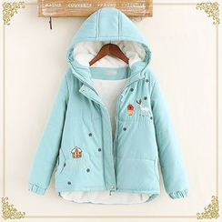 Fairyland - Print Hooded Jacket