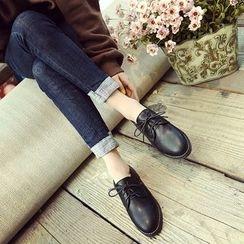 Charming Kicks - Block Heel Oxfords