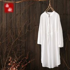 Rosadame - 長袖連衣裙
