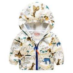 Kido - 童装连帽拉链夹克