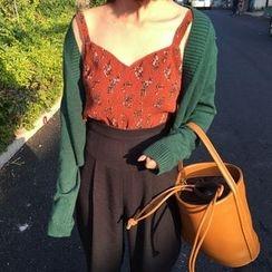 Alfie - Floral V-Neck Chiffon Camisole Top