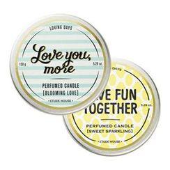 Etude House - Loving Days Perfumed Candle 150g