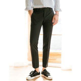 STYLEMAN - Cropped Dress Pants