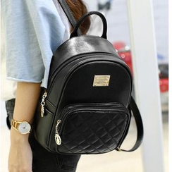 Bluebird - Faux Leather Backpack