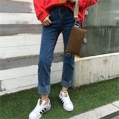 QNIGIRLS - Straight-Cut Jeans