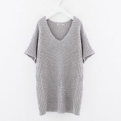 Meimei - Short Sleeve Sweater