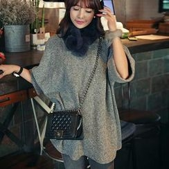 HOTPING - 3/4-Sleeve A-Line Tunic