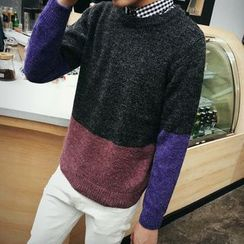 Edway - Color Block Sweater