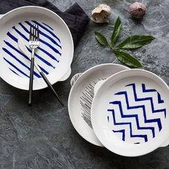 Modern Wife - 圆形陶瓷烤盘