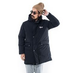 YIDESIMPLE - Hooded Long Coat
