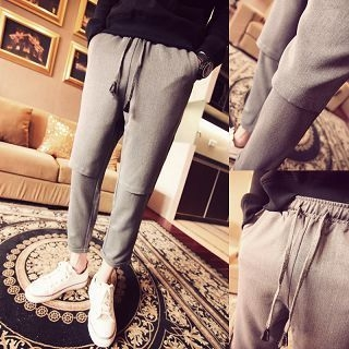 Troopers - Drawstring Cropped Pants