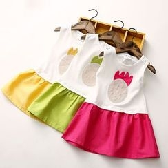 Seashells Kids - Kids Sleeveless Frilled Dress