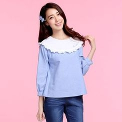 Pipafellow - Ruffled Blouse