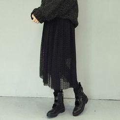 ANTEM - Midi Lace Skirt