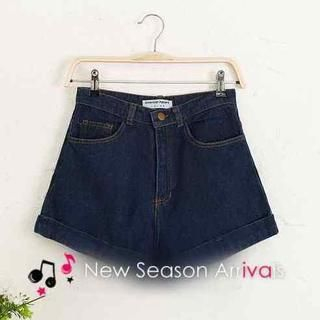 JVL - Cuffed Denim Shorts