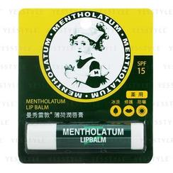 Mentholatum 曼秀雷敦 - 薄荷润唇膏 SPF 15