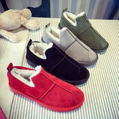 Sunsteps - Fleece-Lined Slip-Ons