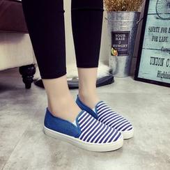 Ginko - 條紋輕便鞋
