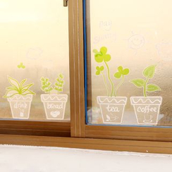 Showroom - Plant Wall Sticker