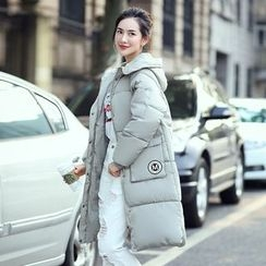 Dream Girl - Hooded Long Padded Jacket